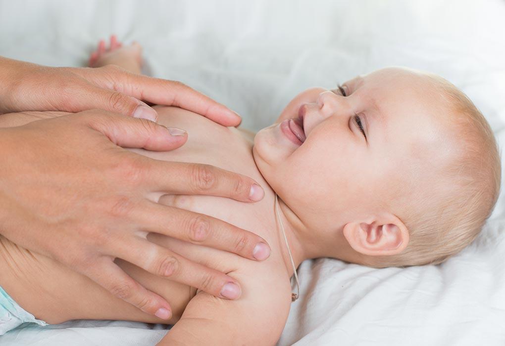 Oliwa z oliwek do masażu niemowląt