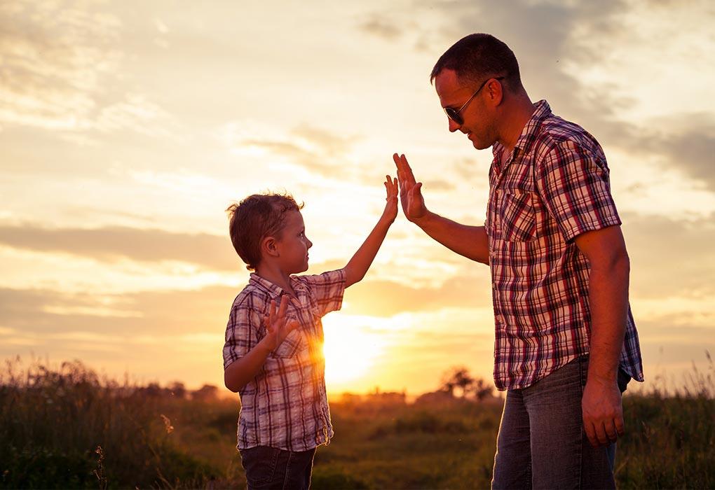ojciec jako przyjaciel