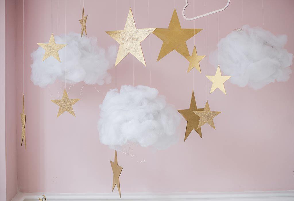 Wystrój sypialni gwiazdy