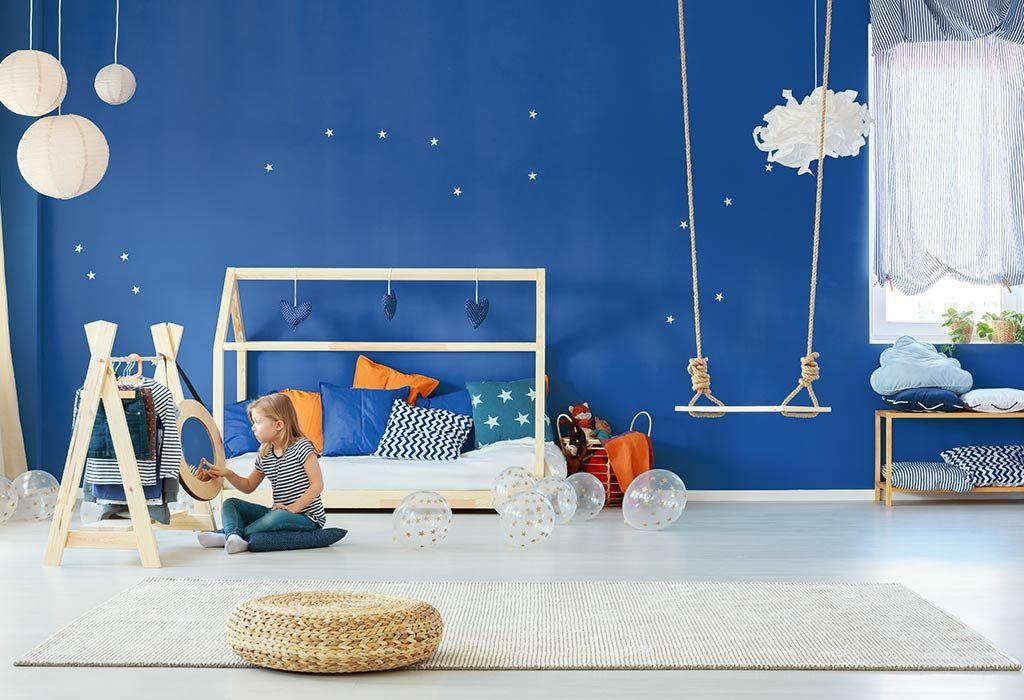 Sypialnia z latarnią