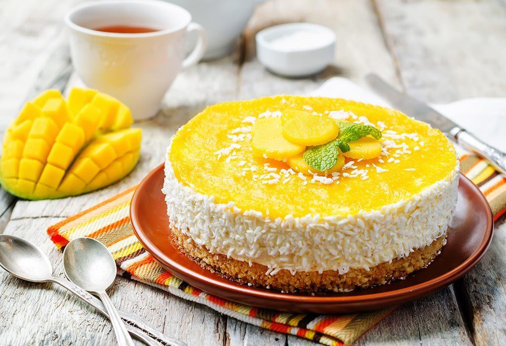 Ciasto mango