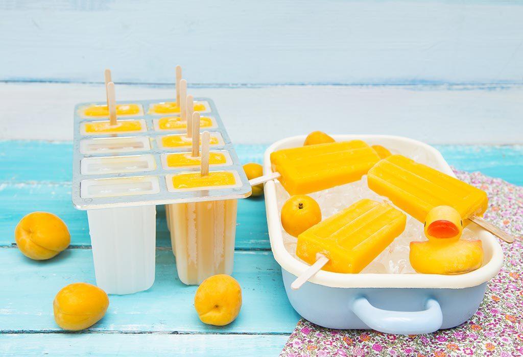 Popsicle z mango