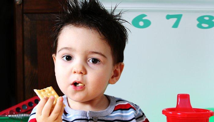 dwuletni chłopiec