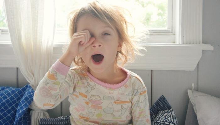 5 powodów, dla których wczesne wschodzące dziecko jest trudne