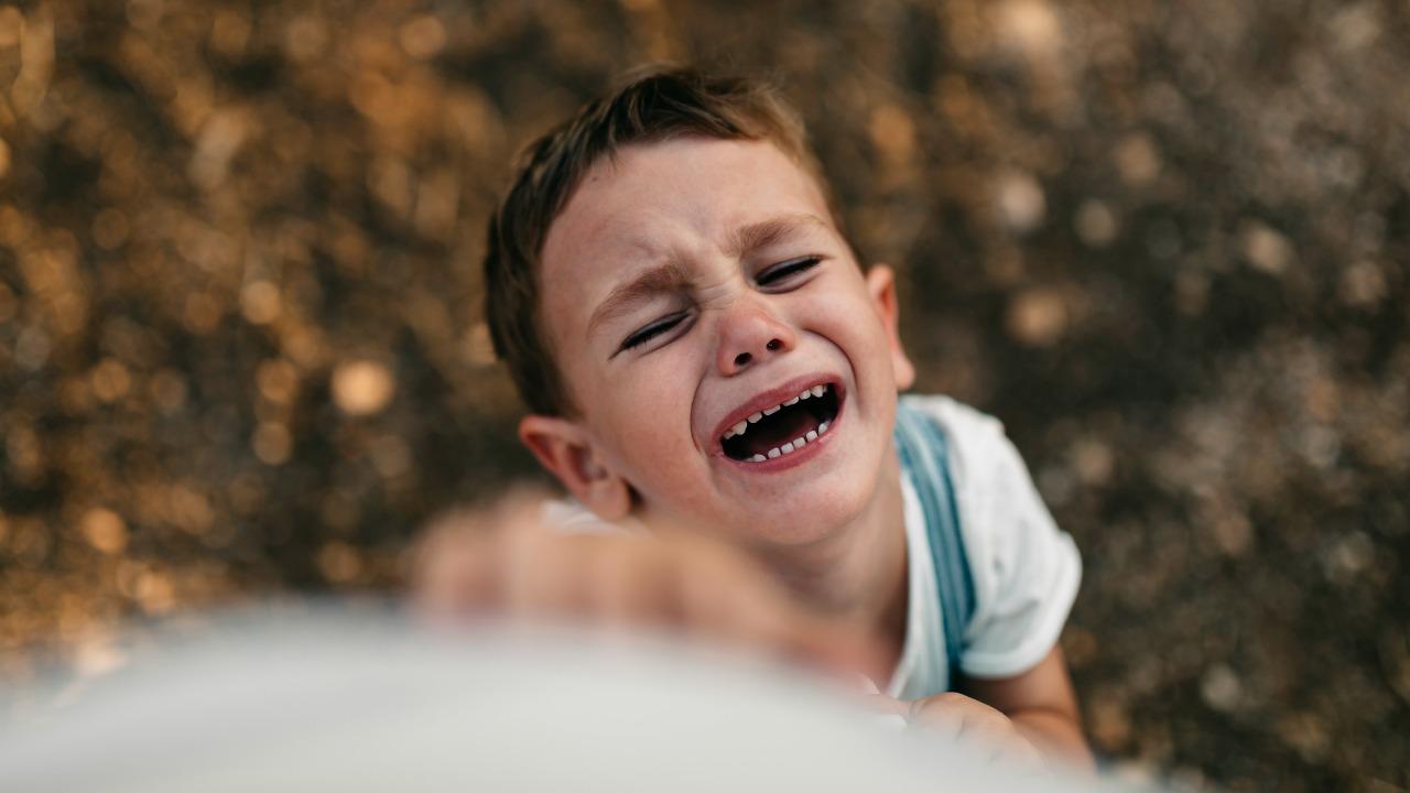napad złości dziecka
