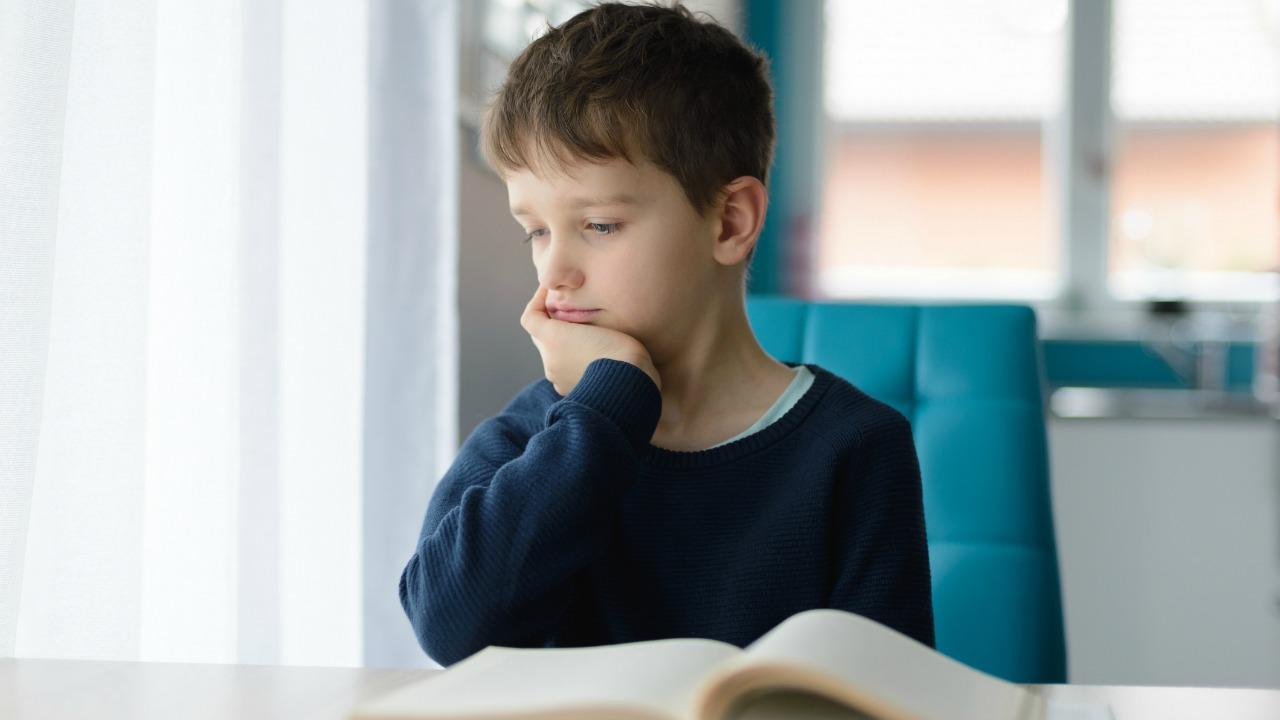 zadanie domowe chłopca