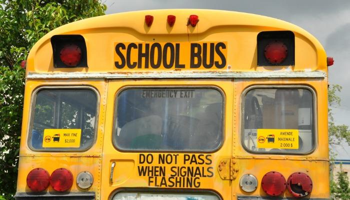List z przeprosinami do kierowcy autobusu szkolnego moich dzieci