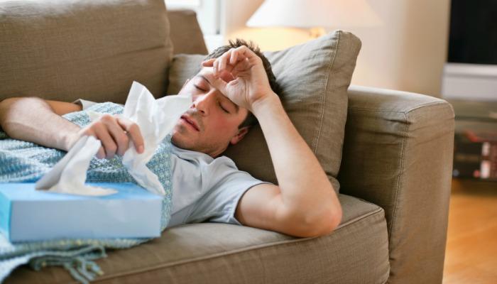 Zazdrosny o chore dni mojego męża