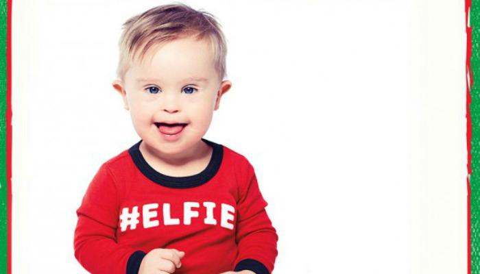 OshKosh B'gosh przedstawia chłopca z zespołem Downa w reklamach świątecznych