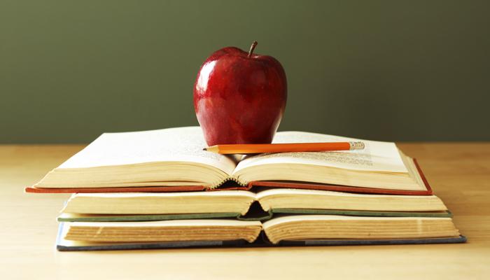 jabłko dla nauczyciela